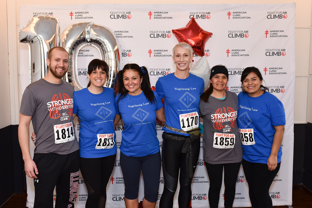 Team Vogelzang Law at Fight For Air Climb