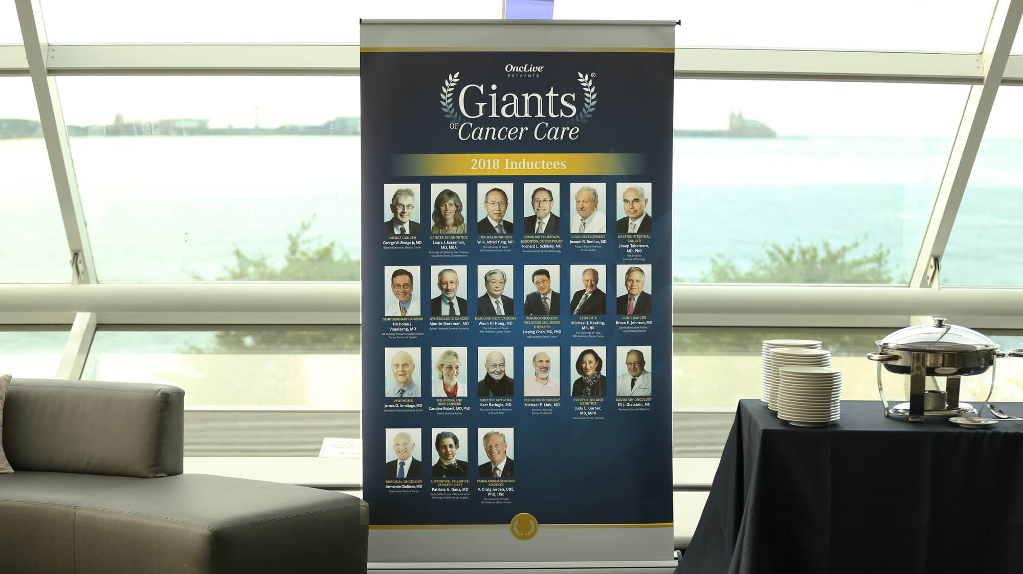 Giants of Cancer Care Induction Interview w/ Dr. Vogelzang, MD, FASCO, FACP