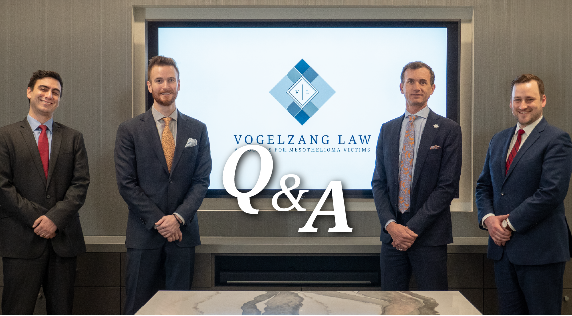 Ask Vl Attorney Wyatt Berkover Discusses Asbestos Litigation Vogelzang Law
